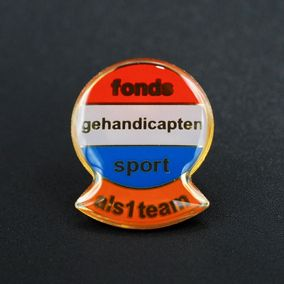 fonds-gehandicapten-sport-pins-als1team-zijdeglans-filmprint-outline-pin's passion