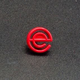 Pin's Passion-Eurotainer-Outline-Red-Dye-Zinc-Alloy-Pins