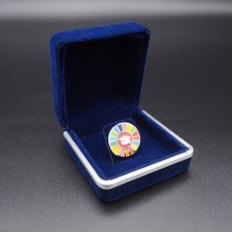 Pin's Passion-Velours-gift-box-Deluxe-Blauw-Pins