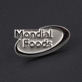 Pin's Passion-Mondial-Foods-Speld-Sterling-Zilver-S925