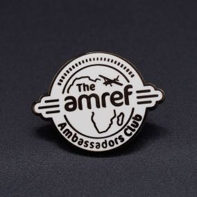 AMREF-pins-ambassadors-club-koper-warm-geëmaillerd-outline-Pins passion