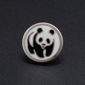Pin's-Passion-Mat-Zilver-Verguldsel-WWF-WNF