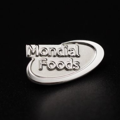 Pin's-Passion-Mondial-Foods-Sterling-Zilveren-Speld-S925